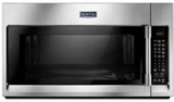 """MMV6190FZ Maytag 30"""" 1.9 cu. ft. Capacity Over the Range Microwave Oven with 1000 Cooking Watts and Interior Cooking Rack - Fingerprint Resistant - Stainless Steel"""