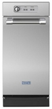 "MTUC7500ADM Maytag 15"" Undercounter Trash Compactor - Stainless Steel"