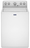 MVWC415EW Maytag Extra-Large Capacity Washer with 3.6 Cu. Ft. Stainless Steel Wash Basket - White