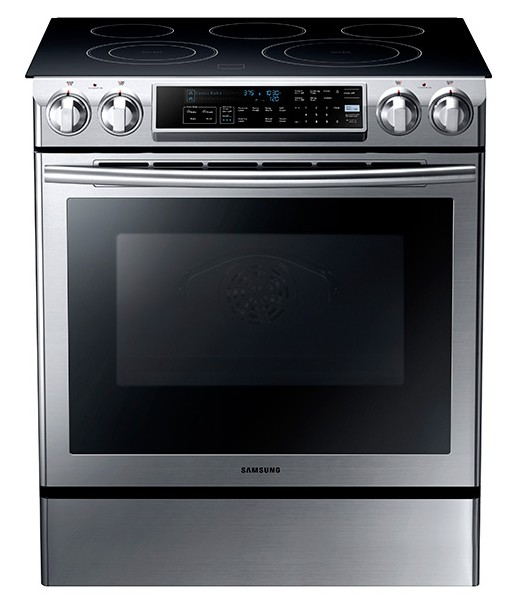 Attrayant NE58F9500SS Samsung 5.8 Cu. Ft. Slide In Electric Range With Dual  Convection