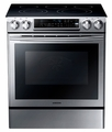 NE58F9500SS Samsung Slide-in Electric Range - Stainless Steel