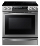 NE58H9950WS Samsung Slide-In Electric Chef Collection Range with Flex Duo Oven