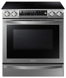 NE58H9970WS Samsung Slide-In Induction Chef Collection Range with Flex Duo� Oven