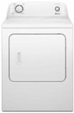 "NED4655EW Amana 29"" 6.5 cu. ft. Top-Load  Electric Dryer with Automatic Dryness Control and  a Wrinkle Prevent Option - White"