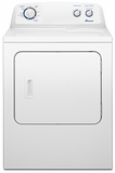 NED4700YQ Amana 7.0 cu. ft. Traditional Electric Dryer with Interior Drum Light - White-on-White