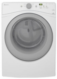 "NED5800DW Amana 27"" Electric Dryer with 7.3 cu. ft. Capacity and 5 Drying Cycles - White"