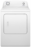 NGD4600YQ Amana 6.5 cu. ft. Traditional Gas Dryer with Automatic Dryness Control - White