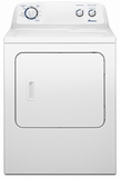 NGD4700YQ Amana 7.0 cu. ft. Traditional Gas Dryer with Interior Drum Light - White-on-White