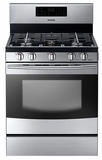 NX58F5300SS Samsung Freestanding Gas Range - Stainless Steel