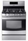 "NX58F5500SS Samsung 30"" Gas Range - Stainless Steel"