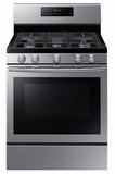NX58H5600SS Samsung Gas Range with Convection - Stainless Steel