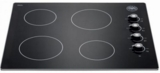P244CERNE Bertazzoni  24'' Smoothtop Electric Cooktop with Residual Heat Indicator Lights - Black