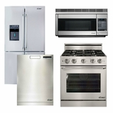 Package 21 - Dacor Ultimate Kitchen Package - Stainless Steel - Gas