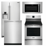 Package FP1 - Frigidaire Appliance Professional Package - 4 Piece Appliance Package with Electric Range - Stainless Steel