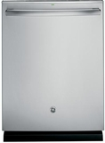 "PDT720SSHSS GE Profile 24"" Stainless Steel Interior Dishwasher with Hidden Controls - Stainless Steel"