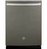 PDT750SMFES GE Stainless Steel Interior Dishwasher with Hidden Controls - Slate