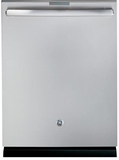 PDT760SSJSS GE Profile Series Stainless Steel Interior Dishwasher with Hidden Controls - Stainless Steel