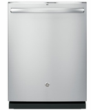 "PDT825SSJSS 24"" GE Profile Series Stainless Steel Interior Dishwasher with Hidden Controls and Wi-Fi Connect - Stainless Steel"
