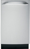 "PDW1860NSS GE Energy Star Profile 18"" Built-In Dishwasher - Stainless Steel"