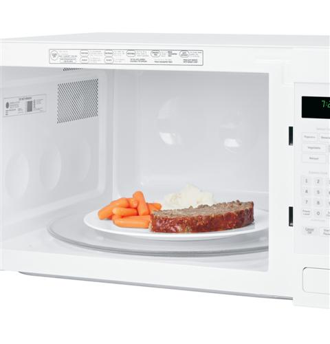 Ge Countertop Microwave White : ... GE Profile 2.2 Cu Ft 1100W Countertop Microwave - White on White