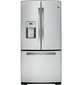 PFE22KSESS GE Profile Series ENERGY STAR 22.1 Cu. Ft. Refrigerator with External Dispenser - Stainless Steel