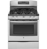 "PGB920SEFSS GE Profile Series 30"" Free-Standing Self-Clean 5.6 Cu.Ft. Gas Range - Stainless Steel"