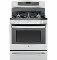 "PGB940SEFSS GE Profile Series 30"" Free-Standing Self Clean Gas Range with Warming Drawer - Stainless Steel"