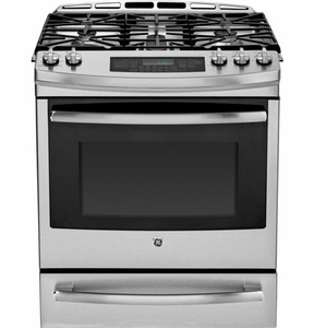 Pgs920sefss Ge Profile Series 30 Quot Slide In Gas Range With