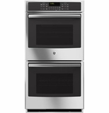 "PK7500SFSS GE Profile Series 27"" Built-In Double Convection Wall Oven - Stainless Steel"