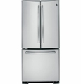 PNS20KSESS GE Profile Series 19.5 Cu. Ft. French-Door Bottom-Freezer Refrigerator - Stainless Steel