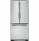 PNS20KSHSS GE Profile� Series 20.0 Cu. Ft. French-Door Refrigerator - Stainless Steel