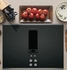 """PP9830SJSS GE Profile Series 30"""" Downdraft Electric Cooktop with Bridge Element - Black with Stainless Steel Trim"""