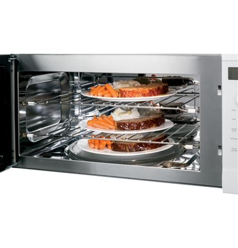 PSA9120DFWW GE Profile Advantium1.7 Cu Ft 120V Over the Range Microwave/Convection Oven with Halogen Heat - White
