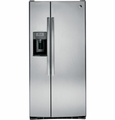 PSS23KSESS GE Profile Series 23.1 Cu. Ft. Side-by-Side Refrigerator with Dispenser - Stainless Steel