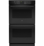 "PT7550DFBB GE Profile Series 30"" Built-In Double Wall Oven with Upper Convection - Black"