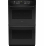 "PT9550DFBB GE Profile Series 30"" Built-In Double Convection Wall Oven - Black"