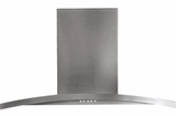 "PV970NSS GE Profile 30"" Designer Wall Mount Hood - Stainless Steel"