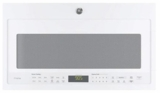 PVM9005DJWW GE Series 2.1 Cu. Ft. Over-the-Range Sensor Microwave Oven - White