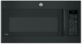 """PVM9179DKBB GE 30"""" 1.7 cu. ft. Over-the-Range Convection Microwave with 950 Watts, Chef Connect and Sensor Cooking Controls - Black"""