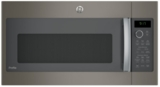 "PVM9179EKES GE 30"" 1.7 cu. ft. Over-the-Range Microwave with 950 Watts, Chef Connect and Sensor Cooking Controls - Slate"