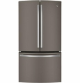 PWE23KMDES GE Profile Series Energy Star 22.7 Cu. Ft. Counter Depth French-Door Refrigerator with TwinChill Evaporators - Slate