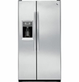 PZS23KSESS GE Profile Series 23.3 Cu. Ft. Counter-Depth Side-by-Side Refrigerator - Stainless Steel