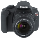 Canon Rebel T5 18 MegaPixel Digital EOS Camera with 18 - 55 IS II Kit with 1080p Video