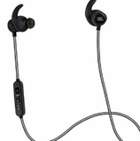 JBL Reflect Mini Bluetooth Sport In-Ear Headphones with Sweat-Proof Design and Super Lightweight - Black