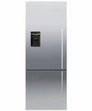 RF135BDLUX4 Fisher & Paykel ActiveSmart� Fridge - 13.5 cu. ft. Counter Depth Bottom Freezer - Left Hinge - Stainless Steel