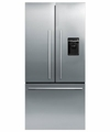 RF170ADUSX4 Fisher Paykel ActiveSmart Refrigerator - 17 cu. ft. Counter Depth French Door with Ice & Water - EZKleen Stainless Steel