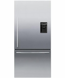 RF170WDRUX5 Fisher & Paykel ActiveSmart� Fridge - 17 cu. ft. Counter Depth Bottom Freezer with Ice & Water - Right Hinge - EZKleen Stainless Steel