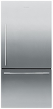 RF170WDRX5 Fisher & Paykel ActiveSmart Fridge - 17 cu. ft. Counter Depth Bottom Freezer Refrigerator - Right Hinge - EZKleen Stainless Steel