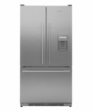 RF195ADUX1 Fisher & Paykel Counter Depth Active Smart French Door Refrigerator with Dispenser - Stainless Steel