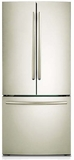 RF220NCTASP Samsung 22 cu. ft. 30-Inch French Door Refrigerator - Stainless Platinum